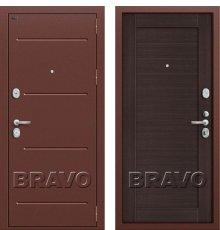 Дверь Bravo Т2-221 (95 мм) Wenge Veralinga