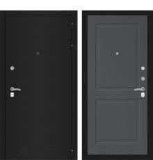 Дверь Лабиринт CLASSIC шагрень черная 11 - Графит софт