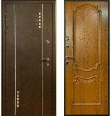 Дверь Voldoor Манхэттен №2 Орех светлый