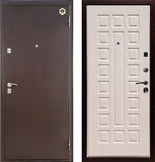 Дверь Бульдорс 13 Дуб беленый А-3 фото