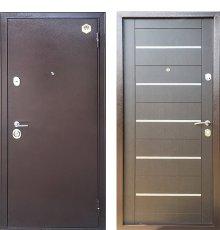 Дверь Бульдорс 13М Медь/Венге М4 фото