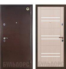 Дверь Бульдорс 13М Медь/Шамбори светлый М3 фото