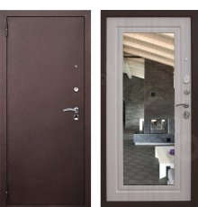 Дверь Снедо Царское зеркало Беленый дуб фото