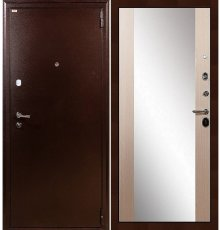 Дверь Лекс 1А / Стиль Беленый дуб (панель №45)