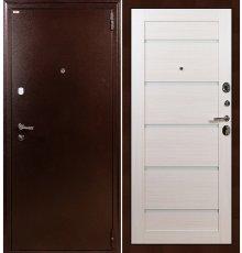 Дверь Лекс 1А / Клеопатра Беленый дуб (панель №58) фото