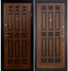 Дверь Гладиатор Винорит / Голден патина (панель №33)