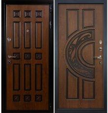 Дверь Гладиатор Винорит / Голден патина (панель №27)