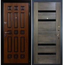 Дверь Гладиатор Винорит / Неро Графит шале (панель №65)