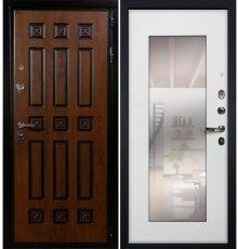 Дверь Гладиатор Винорит / с зеркалом Белый ясень (панель №37)