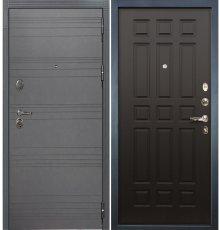 Дверь Легион Графит софт / Венге (панель №29)