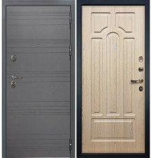 Дверь Легион Графит софт / Беленый дуб (панель №25)