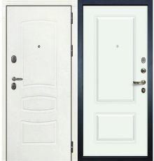 Дверь Легион Белая шагрень / Вероника Белая эмаль (панель №55)