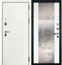 Дверь Легион Белая шагрень / Стиль Белый экошпон (панель №61)