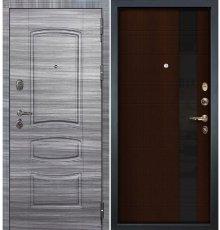 Дверь Легион Сандал серый / Новита Венге (панель №53)