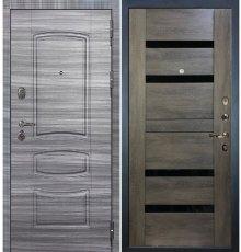 Дверь Легион Сандал серый / Неро Графит шале (панель №65)