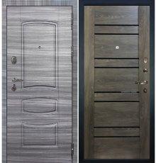 Дверь Легион Сандал серый / Терра Графит шале (панель №64)