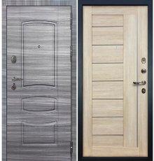 Дверь Легион Сандал серый / Верджиния Кремовый ясень (панель №40)
