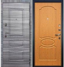 Дверь Легион Сандал серый / Дуб натуральный (панель №15)