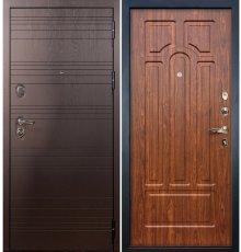 Дверь Легион Ясень шоколадный / Береза мореная (панель №26)