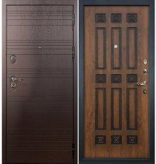 Дверь Легион Ясень шоколадный / Голден патина (панель №33)
