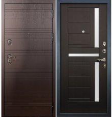 Дверь Легион Ясень шоколадный / Венге (панель №35)