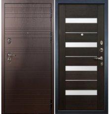Дверь Легион Ясень шоколадный / Сицилио Венге (панель №51)