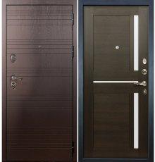Дверь Легион Ясень шоколадный / Баджио Венге (панель №50)