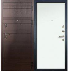 Дверь Легион Ясень шоколадный / Белый винорит (панель №59)