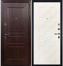 Дверь Сенатор Винорит / Квадро Белая шагрень (панель №71)