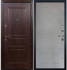 Дверь Сенатор Винорит / Квадро Графит софт (панель №72)