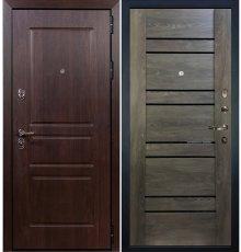 Дверь Сенатор Винорит / Терра Графит шале (панель №64)