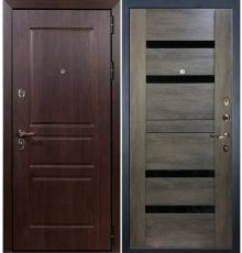 Дверь Сенатор Винорит / Неро Графит шале (панель №65)
