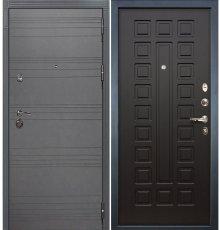 Дверь Сенатор 3К Графит софт / Венге (панель №21)