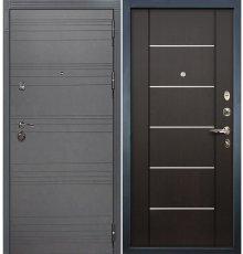 Дверь Сенатор 3К Графит софт / Венге (панель №24)