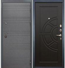 Дверь Сенатор 3К Графит софт / Венге (панель №43)
