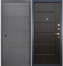 Дверь Сенатор 3К Графит софт / Венге (панель №41)