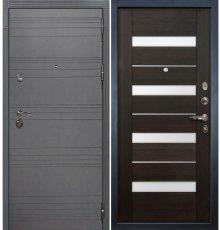 Дверь Сенатор 3К Графит софт / Сицилио Венге (панель №51)