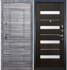 Дверь Сенатор 3К Сандал серый / Сицилио Венге (панель №51)