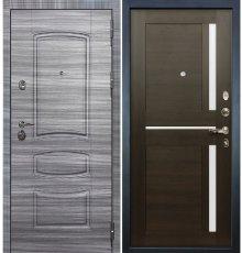 Дверь Сенатор 3К Сандал серый / Баджио Венге (панель №50)