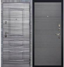 Дверь Сенатор 3К Сандал серый / Графит софт (панель №70)