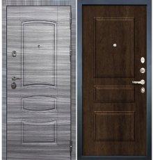 Дверь Сенатор 3К Сандал серый / Алмон 28 (панель №60)