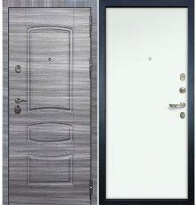 Дверь Сенатор 3К Сандал серый / Белый винорит (панель №59)