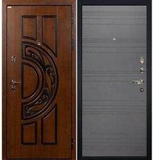 Дверь Спартак CISA / Графит софт (панель №70)