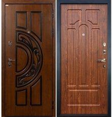 Дверь Спартак CISA / Береза мореная (панель №26)