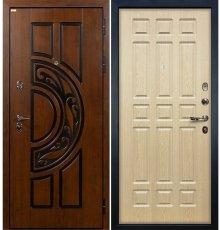 Дверь Спартак CISA / Беленый дуб (панель №28)