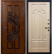 Дверь Спартак CISA / Беленый дуб (панель №25)