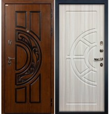 Дверь Спартак CISA / Сандал белый (панель №44)