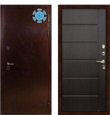 Дверь с терморазрывом Сибирь 3К / Венге (панель №41)