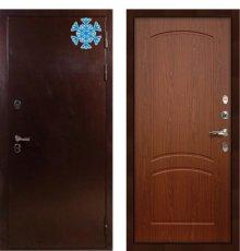 Дверь с терморазрывом Сибирь 3К / Береза мореная (панель №11)