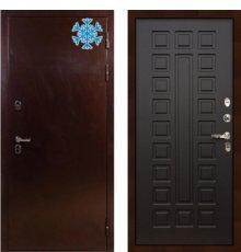 Дверь с терморазрывом Сибирь 3К / Венге (панель №21)